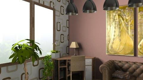brown room6b - Living room - by cyberneko