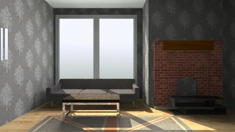 posh living room - Vintage - Living room  - by baileywressell