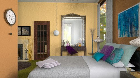 norwegian wood view one - Eclectic - Bathroom - by PennyDreadful