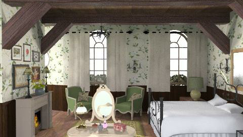 Bedroom 2 - Rustic - Bedroom  - by M_Lane