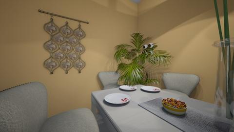 attrmption - Dining room  - by besanabesana