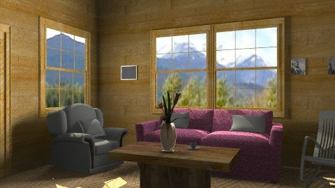 Country Living room - Country - Living room  - by TheAlgonaGirl