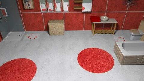 bathroom - Glamour - Bathroom  - by ioanavladut7