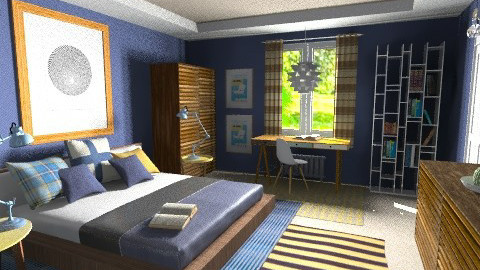to JMLAT by GIULIADOCET - Modern - Bedroom  - by Giuiulai
