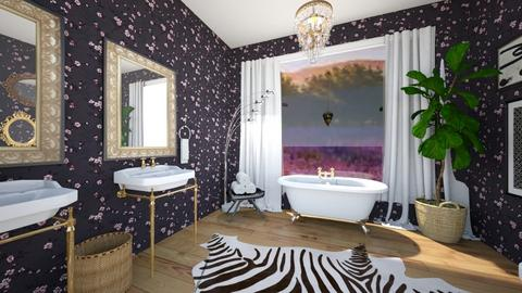 Lavender Inspired Bath - Bathroom  - by sydpmoore