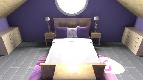 Rusticparadisemasterbed - Bedroom - by moonkai
