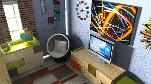 Saturnino's Picks - Retro - Bedroom  - by verajennifer