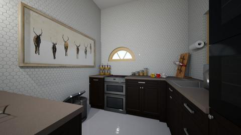 family design - Classic - Kitchen  - by zaryah123