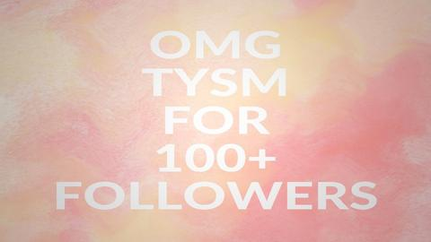 OMG TY FOR 100 FOLLOWERS - by Aristar_bucks