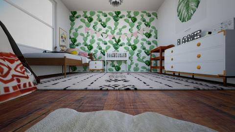 n u r s e r  y  - Minimal - Kids room  - by LightLuzLux