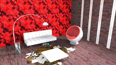 Rose Red - Living room - by magicboy18