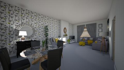 Wendy Muldoon - Living room  - by Wendj