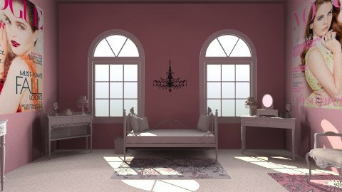 Vouge Chic - Glamour - Bedroom  - by HGranger2