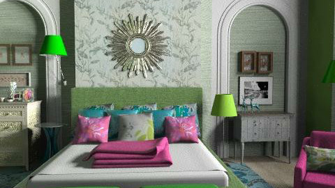 Boho style - Eclectic - Bedroom  - by liling