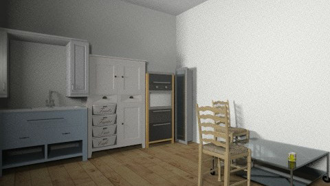 modern basic - Rustic - Kitchen  - by kayley griffiths