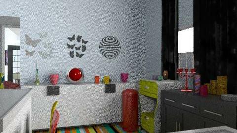 Ž - Eclectic - Kitchen  - by qwertz