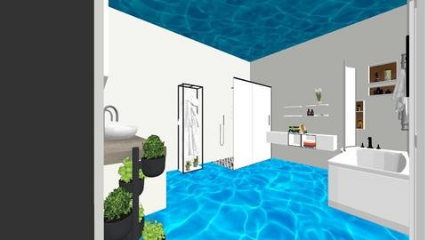 water room  - Bathroom  - by catrinha