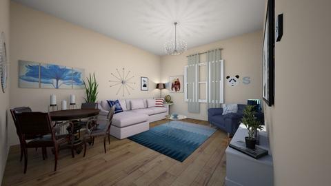 Mc Office - Modern - Living room - by meliSevan