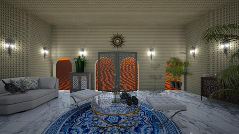 Arabic Tearoom - Living room - by Irene Scaglione