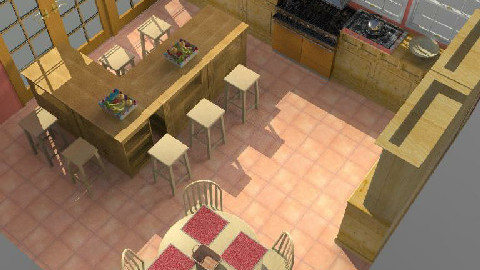 Rustico 1 - Rustic - Kitchen  - by Ivannia Arana