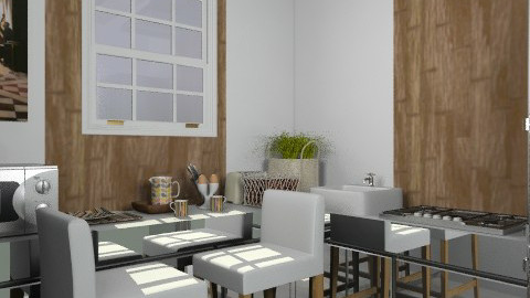 011211 - Minimal - Kitchen  - by Elena Green