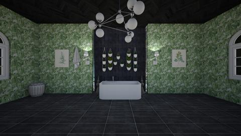 plant comp - Country - Bathroom  - by taebay1 OSG