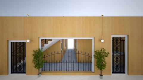 front door bording house - by ana mechelle