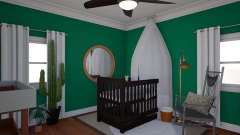 Nursery 1 - Kids room  - by addiRhudson