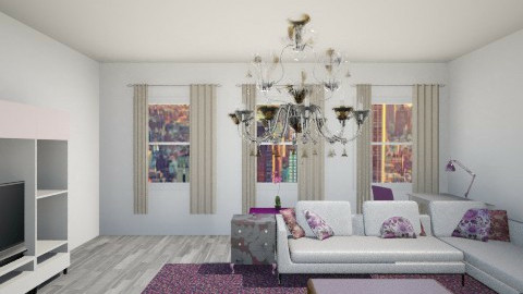 newy - Glamour - Living room - by MishMish17