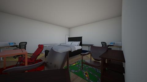 QWERTYUIOPASDFGHJKLZXCVBN - Masculine - Bedroom  - by BraydenIvory