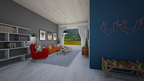 Conrans Eye - Living room  - by Nikki Lipstick