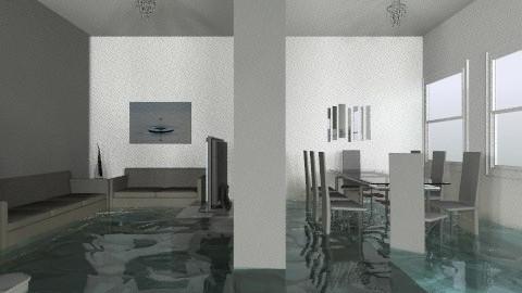 apartment bottom floor - Minimal - Office  - by laurabeacham97