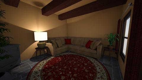 Scottish living room - by ellierocks13