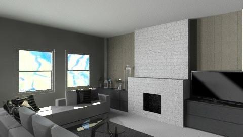 white house - Living room - by Gargiulo Marzio