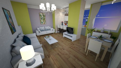 DUBAI THE SPIRIT - Minimal - Bedroom  - by forough_a1
