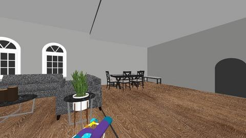 room 1 - Modern - Living room  - by alize04