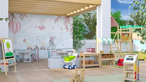 Daycare - Garden  - by Lizzy0715