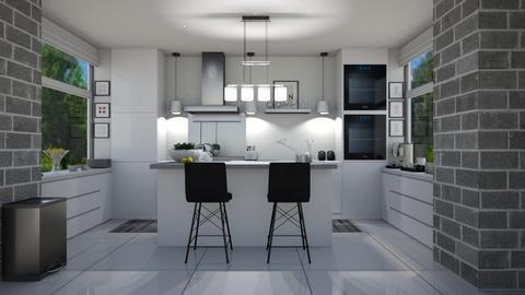 modern kitchen - Kitchen  - by Miriam09