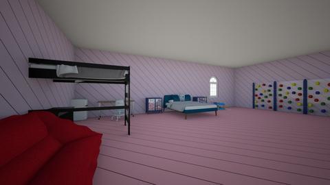 DREAM ROOM - Bedroom  - by zebrasrule9
