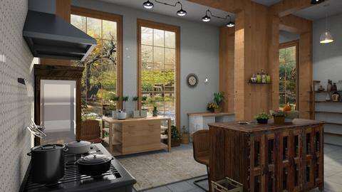 Country_Kitchen - Kitchen  - by ZuzanaDesign
