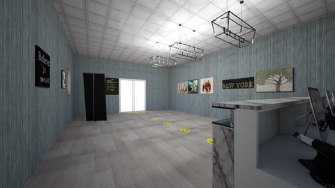 COVID Office - Modern - Office  - by Charginghawks