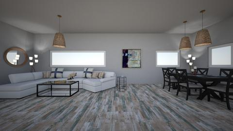 floor lamp - Modern - Living room  - by Poopypants17
