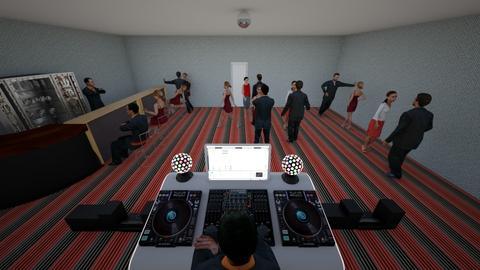 DJ room - Retro - by joshuapoopsalot