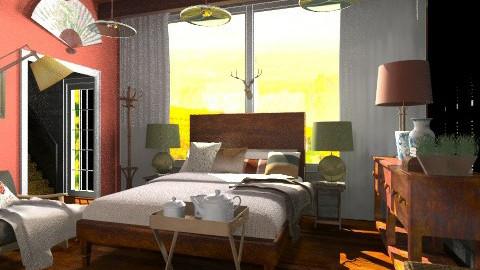 the bedroom - Rustic - Bedroom  - by hetregent