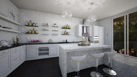 Glam Kitchen - Glamour - by Nina Colin