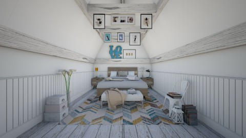 Softly - Eclectic - Bedroom  - by Laurika