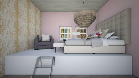 Paris at home - Bedroom - by sejal_j16
