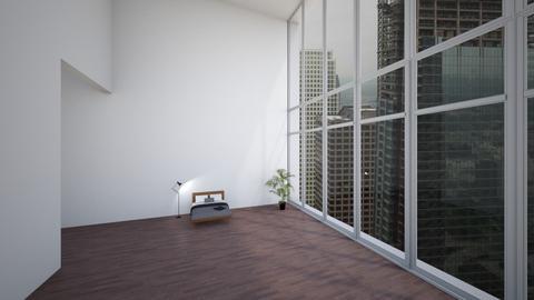 highrise - Minimal - Bedroom - by eggikid