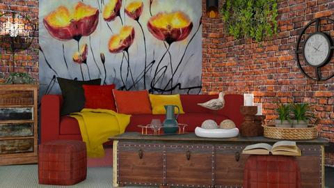 M_Poppy_Loft - Living room  - by milyca8