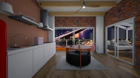 city kitchen - by MomoBeag